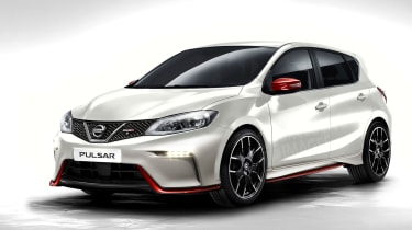Nissan Pulsar Nismo front