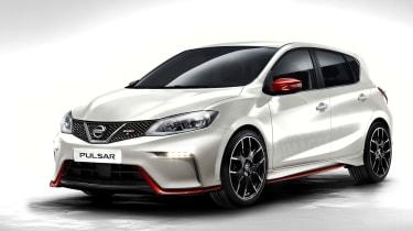 Nissan Pulsar Nismo front