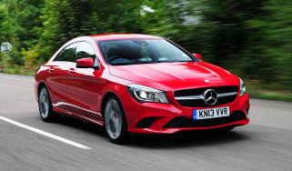 Mercedes CLA 180 Sport front action