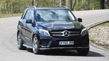 Used Mercedes GLE - front cornering