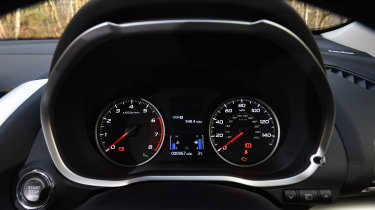 Mitsubishi Eclipse Cross First Edition - dials