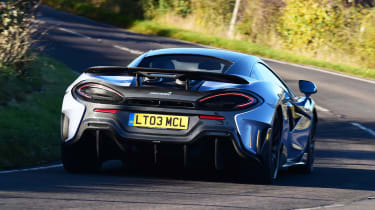 McLaren 600LT - rear cornering