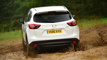 Mazda CX-5 - rear off-road