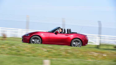 Mazda MX-5 long termer - first report side