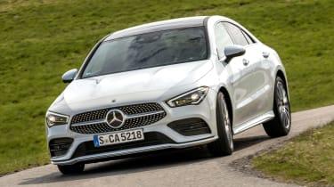 Mercedes CLA - front cornering