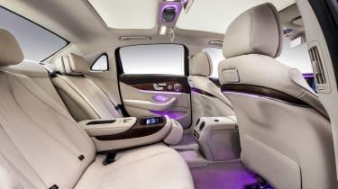 Mercedes E-Class LWB - interior