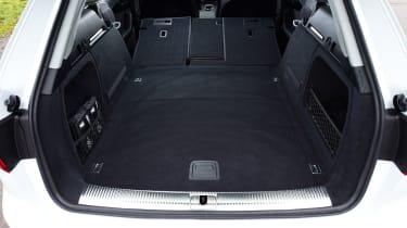 Audi A4 Allroad UK 2016 - boot space