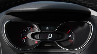 renault captur dashboard instruments interior
