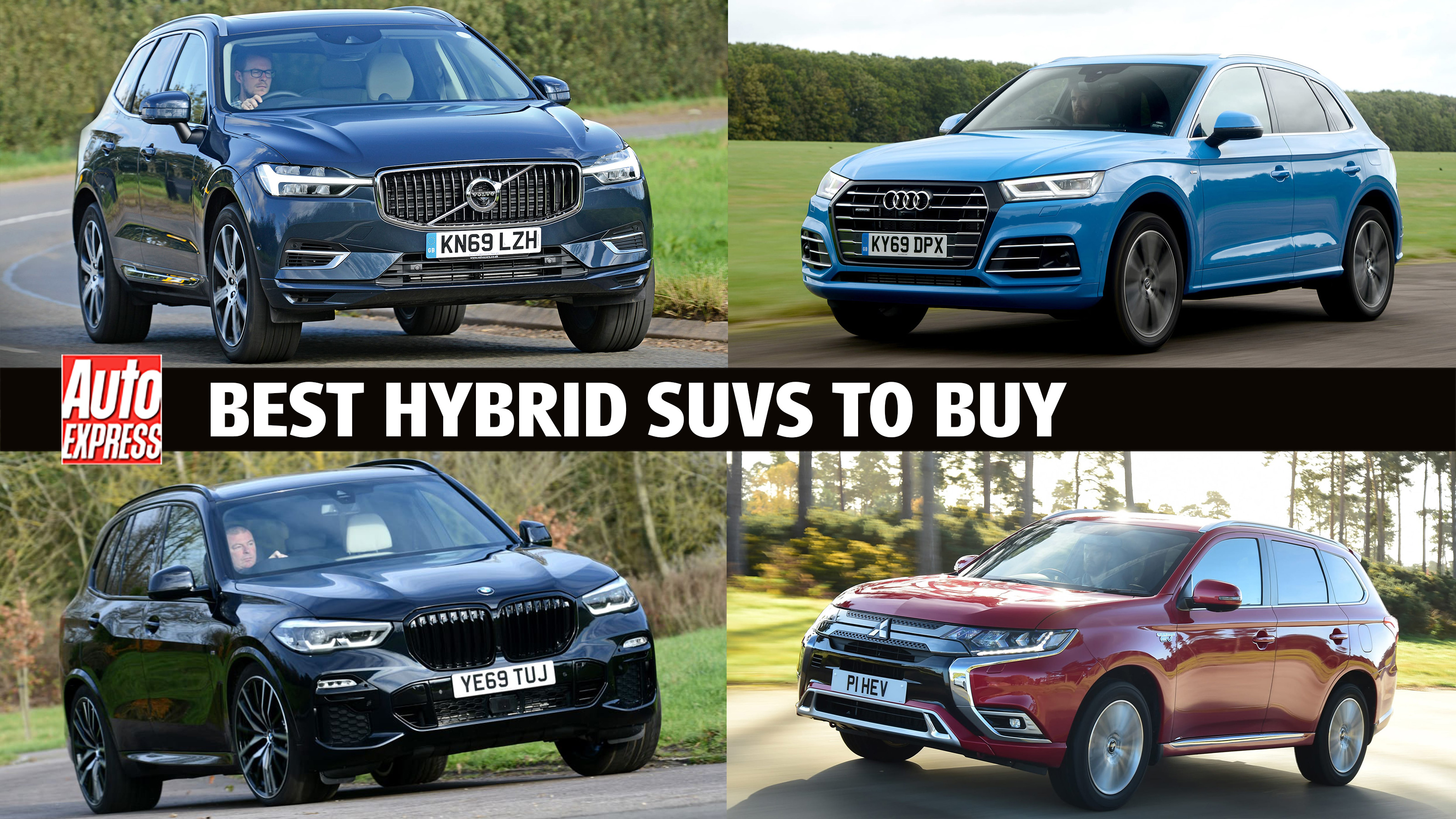 Best Hybrid Suvs 2021 Auto Express