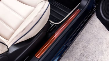 Fiat 500 Riva - door sills
