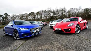 Used vs new car test - close