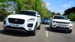 Jaguar E-Pace vs Volkswagen Tiguan vs Jeep Compass - header