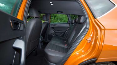 SEAT Ateca FR - rear seats
