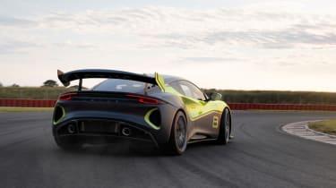 Lotus Emira GT4 racer