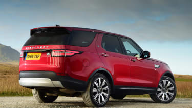 Land Rover Discovery - rear static