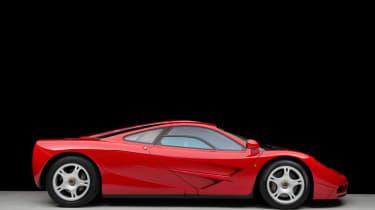 McLaren F1  side