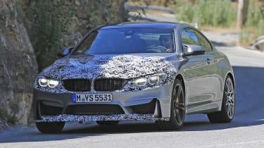 BMW M4 2017 spy shot 1