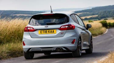 Ford Fiesta ST - rear action