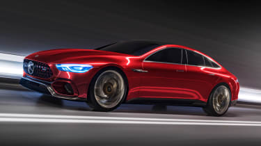 Mercedes-AMG GT Concept - front action
