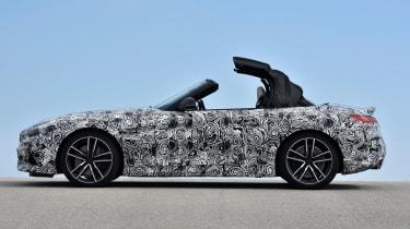 BMW Z4 prototype - roof opening