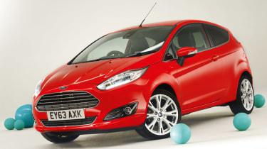 Ford Fiesta new car awards 2014