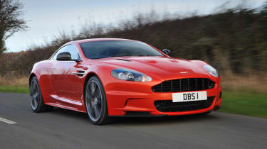 Aston Martin DBS Carbon Edition front tracking