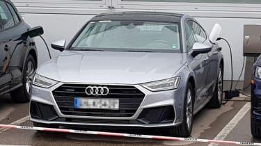 New Audi A7 e-tron