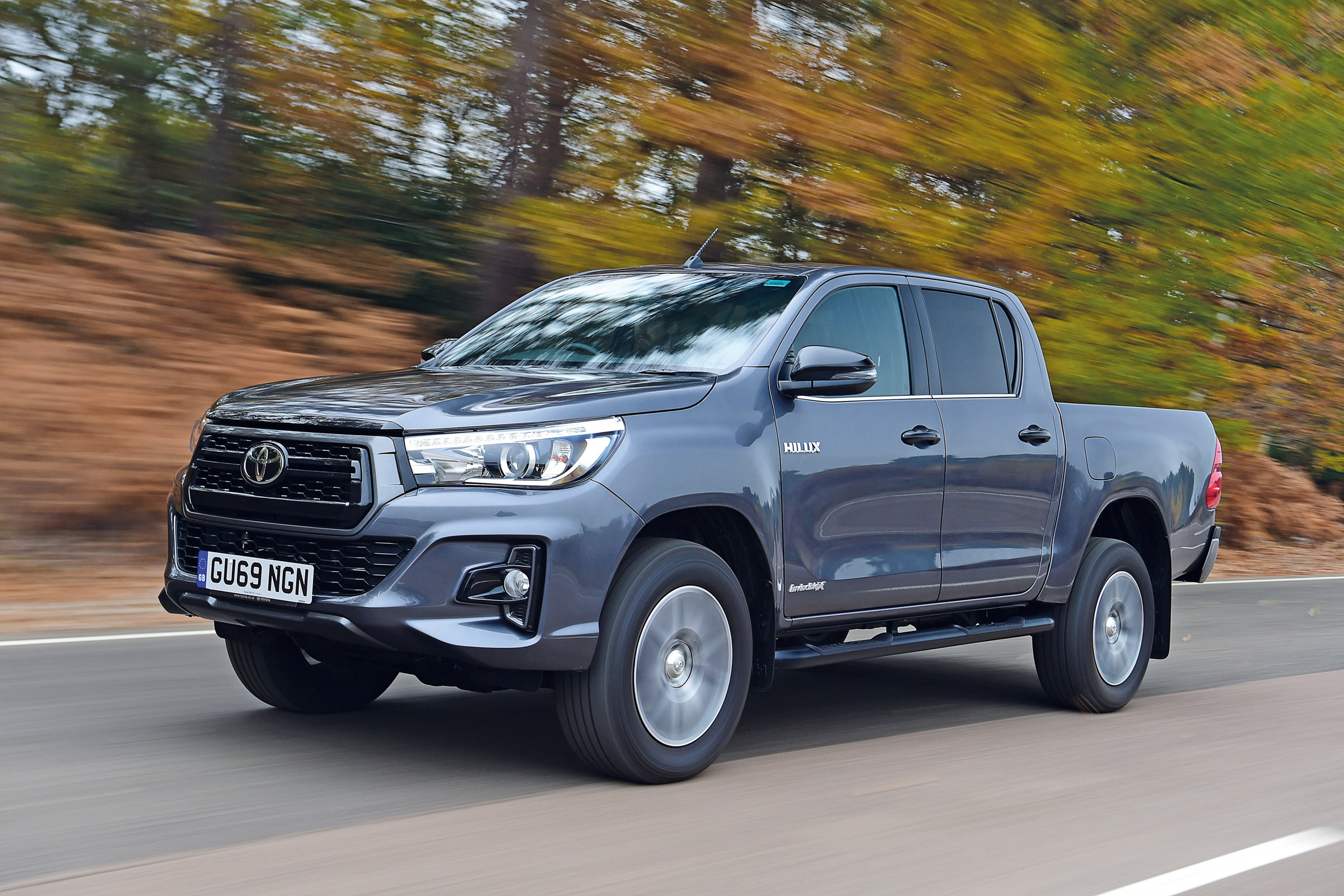 Toyota Hilux Pick Up Review Auto Express