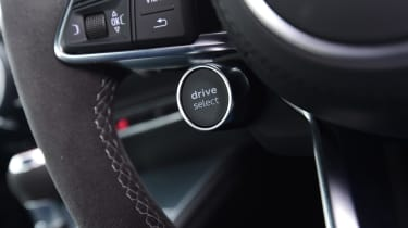 Audi TT RS - button