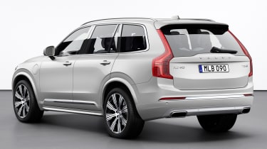 Volvo XC90 facelift - rear 3/4