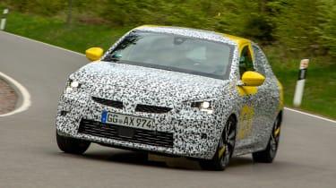 Vauxhall Corsa prototype - front