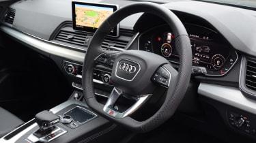 Audi Q5 PHEV long-termer - first report dash