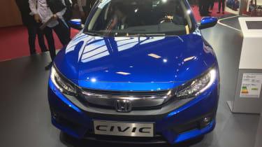Honda Civic - Paris front