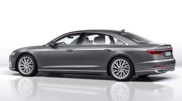 New Audi A8 unveiled - rear quarter