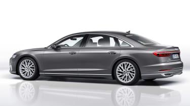 New Audi A8 unveiled - rear quarter