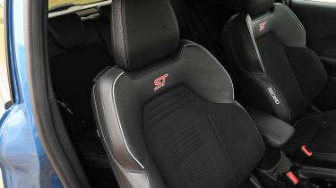Ford Fiesta ST - seat detail
