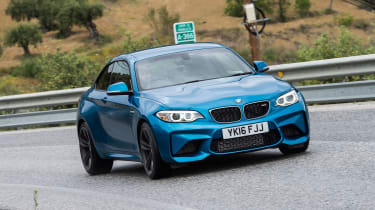 New BMW M2 Coupe UK - front cornering 3