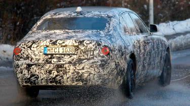 Rolls-Royce Ghost spies - rear 3/4