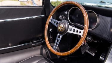 Jaguar E-Type Zero prototype - steering wheel