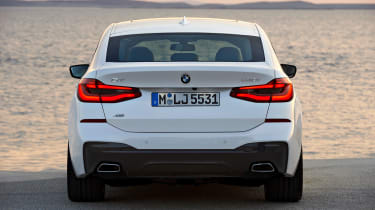 BMW 6 Series Gran Turismo - full rear