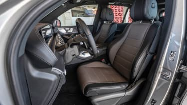 Mercedes GLE - front seats