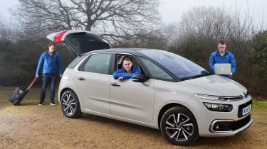 Citroen C4 Picasso long termer second report - header