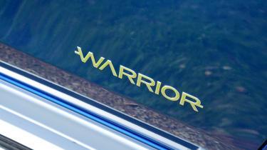 Mitsubishi L200 - warrior badge