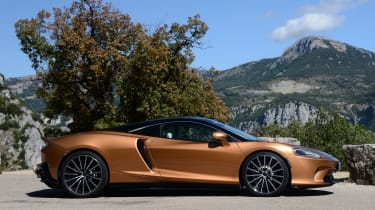 McLaren GT - side static