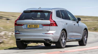 Volvo XC60 D4 - rear cornering
