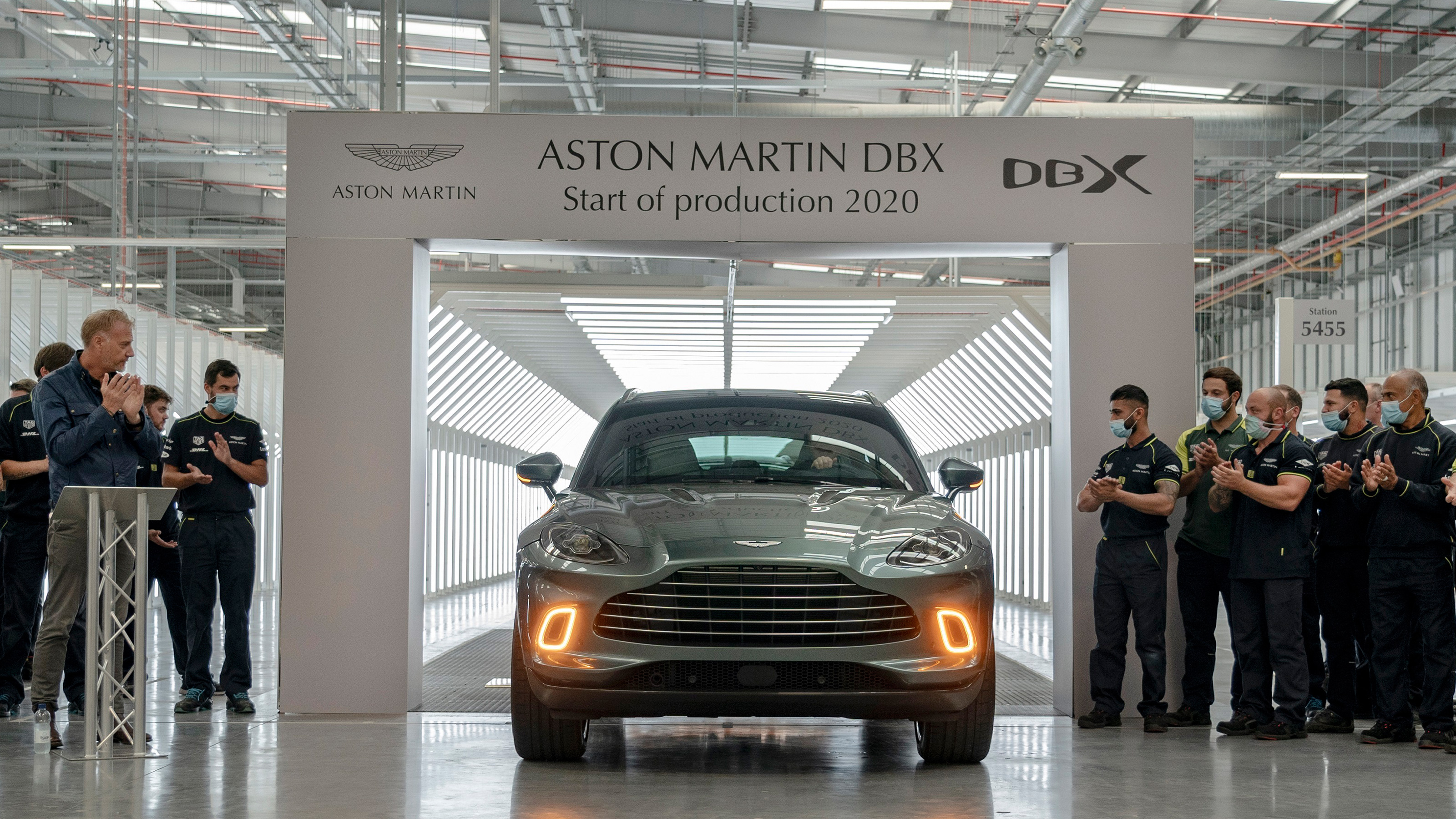 New Aston Martin Dbx Suv First Car Rolls Off Welsh Production Line Plus All The Specs And Details Auto Express