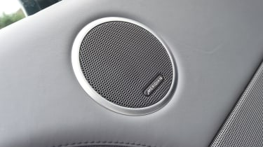 Meridian sound system is the perfect companion when travelling home.