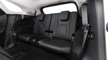Lexus RX 450h L - back seats