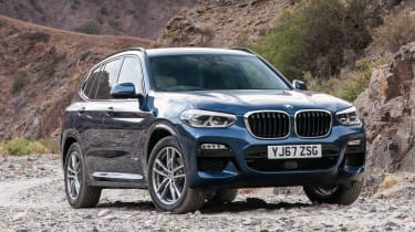 BMW X3 - front static