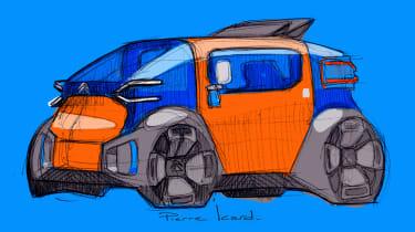 Citroen AMI ONE concept - front design